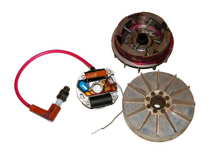 Как сделать магнето на бензопилу