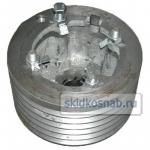 Шкив двигателя привода молотилки (левая сторона) D=270 фото 1
