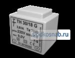 Фото Малогабаритный трансформатор для печатных плат ТН 30/18 G