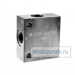 Корпус картриджного клапана ML-11A3-G04-S01 фото 1