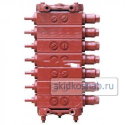 Гидрораспределитель ГА-34000 мускульный семи секционный фото 1